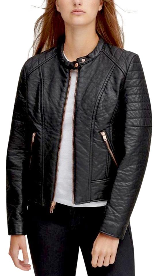 05369bf1c Black Faux Leather Jacket