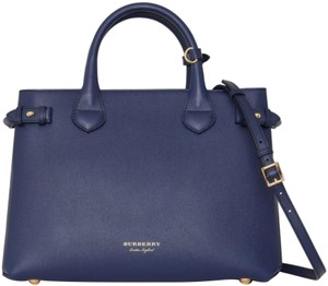 Burberry London Tote in ink blue