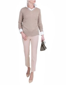 Avenue Montaigne Capri/Cropped Pants Blush