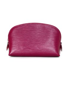 Louis Vuitton 2017 Pink Epi Leather Cosmetic Pouch
