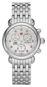 Michele Silver Bracelet Mother of Pearl Diamond Dial CSX MWW03M000120