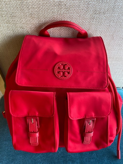 Item - Nylon Red Backpack