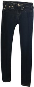 True Religion Leggings Skinny Jeans-Dark Rinse