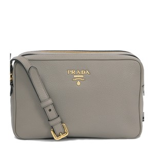 Prada Leather Women Cross Body Bag