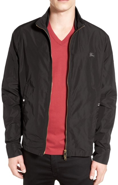 Item - Black Men's Brighton Zip-front Embroidered Logo Small Jacket Size 6 (S)