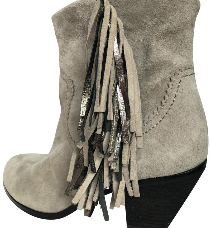 51468c027e5fdc Sam Edelman Gray Louie Boots Booties Size US 7.5 Regular (M