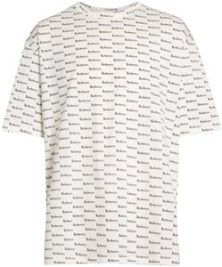 Burberry London T Shirt white ip pattern