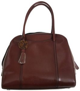 Hobo International The Leahter Satchel in brown