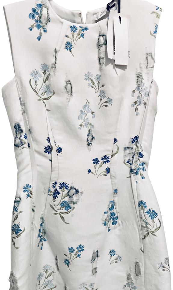 newest 54344 df884 Versace Collection White Abito Donna Short Work/Office Dress Size 0 (XS)  48% off retail