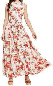 Multicolor Maxi Dress by SheIn