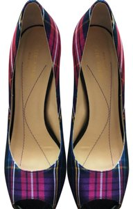 Kate Spade multi colored plaid Pumps