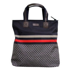 Gucci Unisex Diamante Travel Tote in Blue