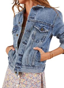 Reformation Jean Recycled Levi's Plus Denim Womens Jean Jacket