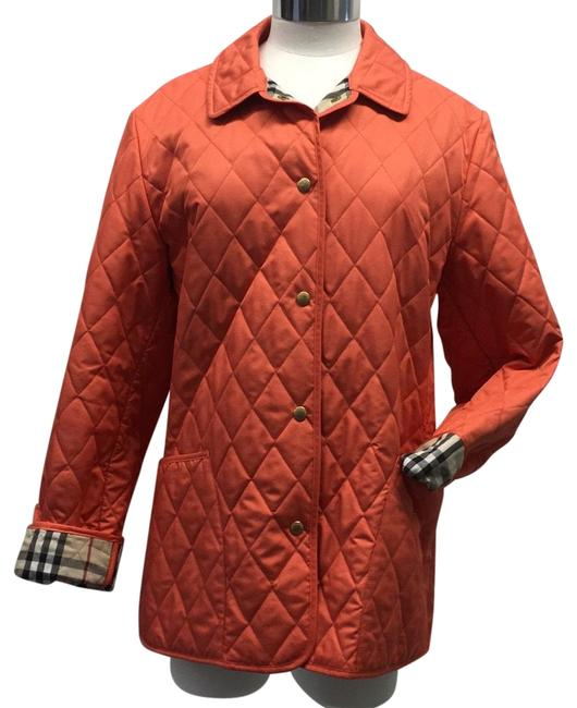 Preload https://img-static.tradesy.com/item/24395135/burberry-orange-diamond-quilted-jacket-size-8-m-0-1-650-650.jpg