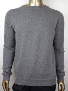 Gucci Gray W Men's Cashmere Pullover W/Rb Web Detail 2xl 369066 1514 Groomsman Gift