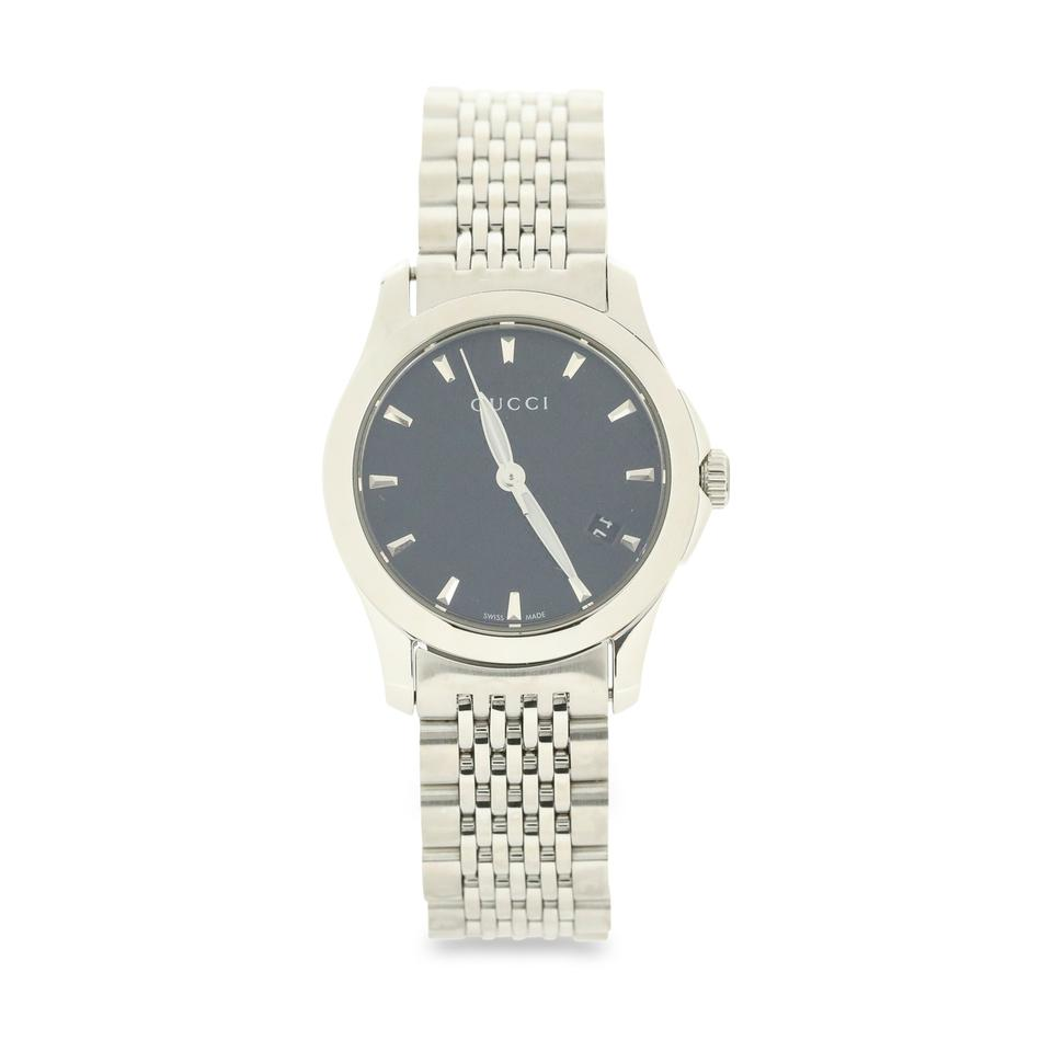 c59fbe929de Gucci Silver G-timeless Watch - Tradesy
