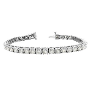 Gavriel's Jewelry Amazing 9.75cts Classic Diamond Tennis Bracelet 14K White Gold