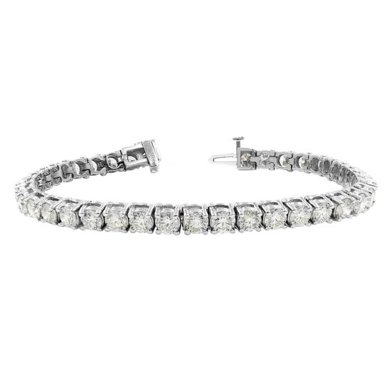 Preload https://img-static.tradesy.com/item/24395599/gavriel-s-jewelry-white-amazing-975cts-classic-diamond-tennis-14k-gold-bracelet-0-1-540-540.jpg