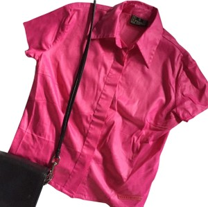 Fendi Button Down Shirt pink
