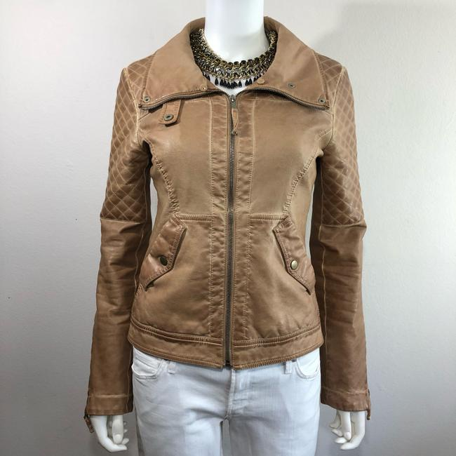 Zara Motorcycle Jacket Image 3