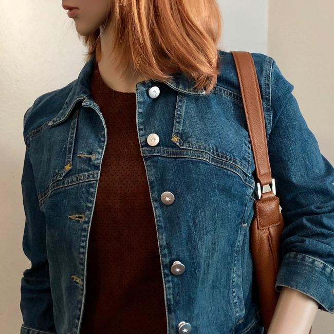 See by Chloé Womens Jean Jacket Image 4