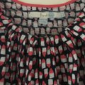 Boden Top dark blue ,pink and white pattern Image 2