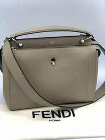 Fendi Leather Made In Italy Cross Body Bag Image 8
