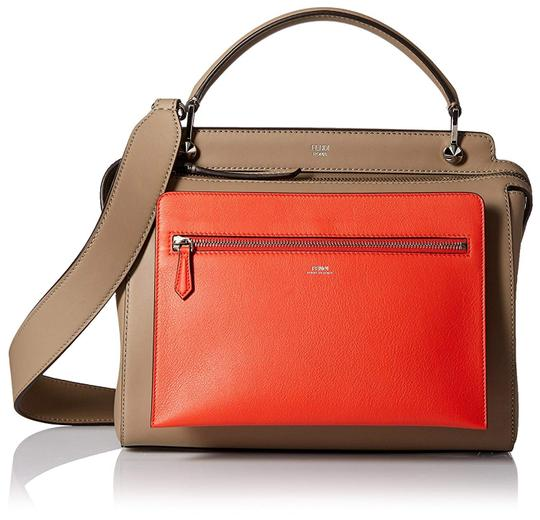 Fendi Leather Made In Italy Cross Body Bag Image 9
