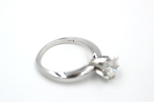 I Si1 Round 1.02 Cts 14k White Gold Engagement Ring Image 1