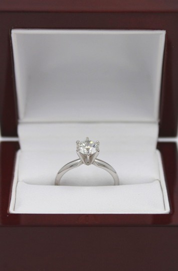 I Si1 Round 1.02 Cts 14k White Gold Engagement Ring Image 3