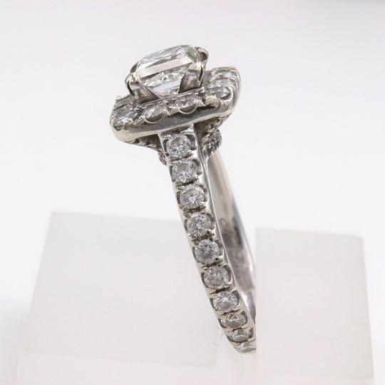 H Si2 Diamond Princess Halo 2.00 Tcw In 14k White Gold Engagement Ring Image 8