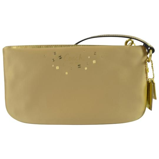 Coach Sequin Clutch Wristlet in Gold Image 2