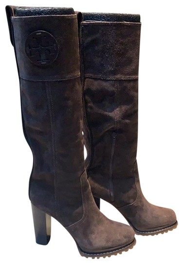 Preload https://img-static.tradesy.com/item/24396315/tory-burch-brown-suede-bootsbooties-size-us-75-regular-m-b-0-1-540-540.jpg