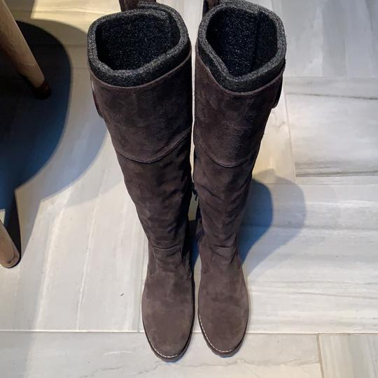 Tory Burch Brown Suede Boots Image 2