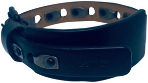 Lanvin Lanvin Leather Wrap Rivet Detailing Bracelet