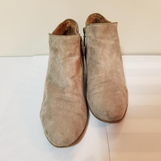 Naturalizer Sam Edelman Suede Weather Ankle Beige Boots Image 1