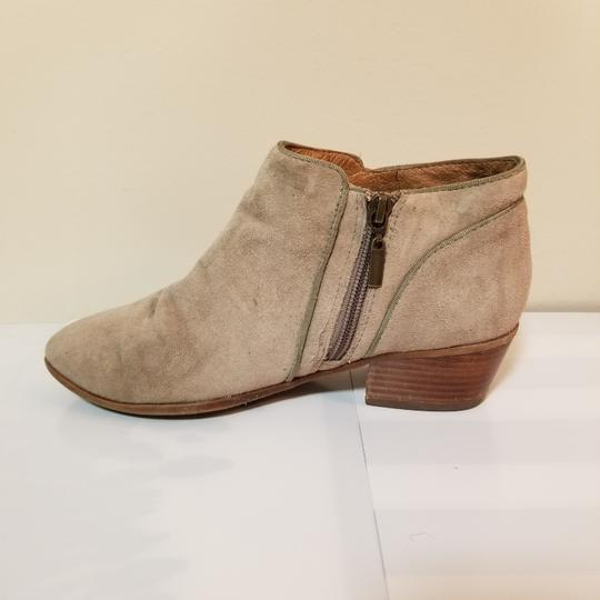 Naturalizer Sam Edelman Suede Weather Ankle Beige Boots Image 2