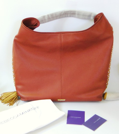 Rebecca Minkoff Leather Hobo Bag Image 1