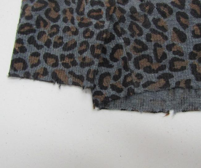 Zadig & Voltaire Distressed Leopard Knit Print Sweater Image 10