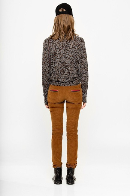 Zadig & Voltaire Distressed Leopard Knit Print Sweater Image 3