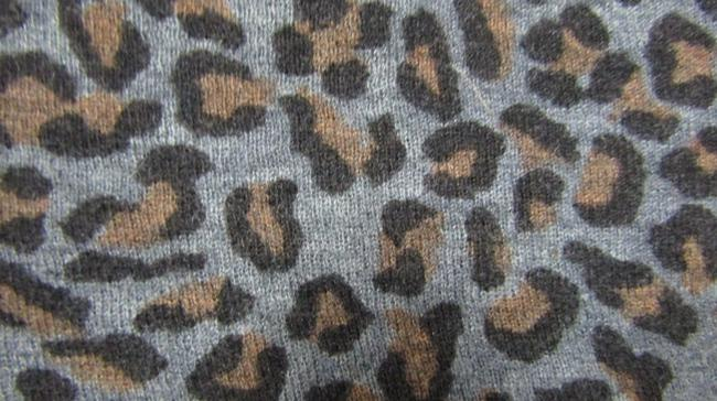 Zadig & Voltaire Distressed Leopard Knit Print Sweater Image 6