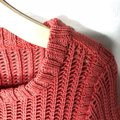 Anthropologie Cotton Knit Casual Comfortable Sweater Image 1