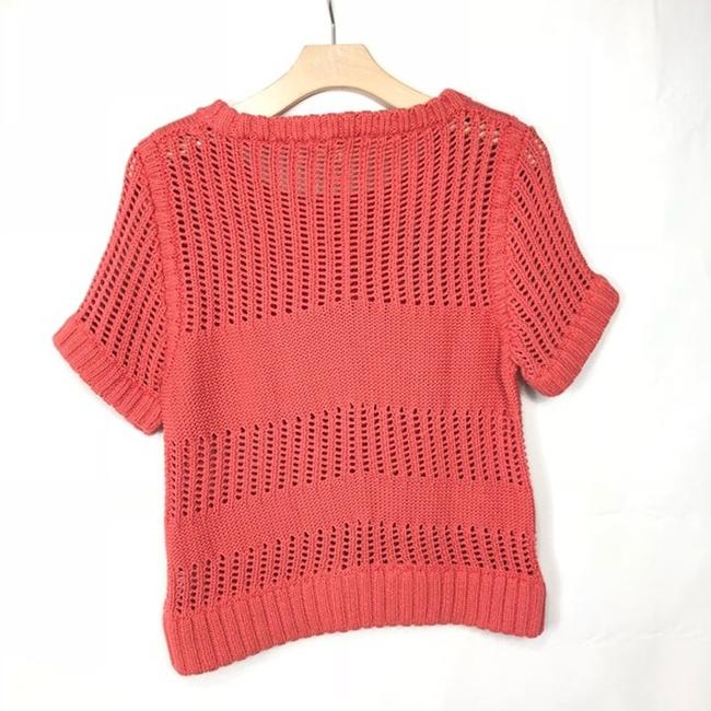 Anthropologie Cotton Knit Casual Comfortable Sweater Image 4