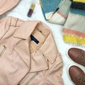 Cole Haan Pink Leather Jacket Image 1