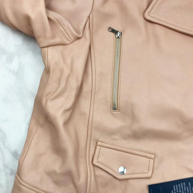 Cole Haan Pink Leather Jacket Image 2