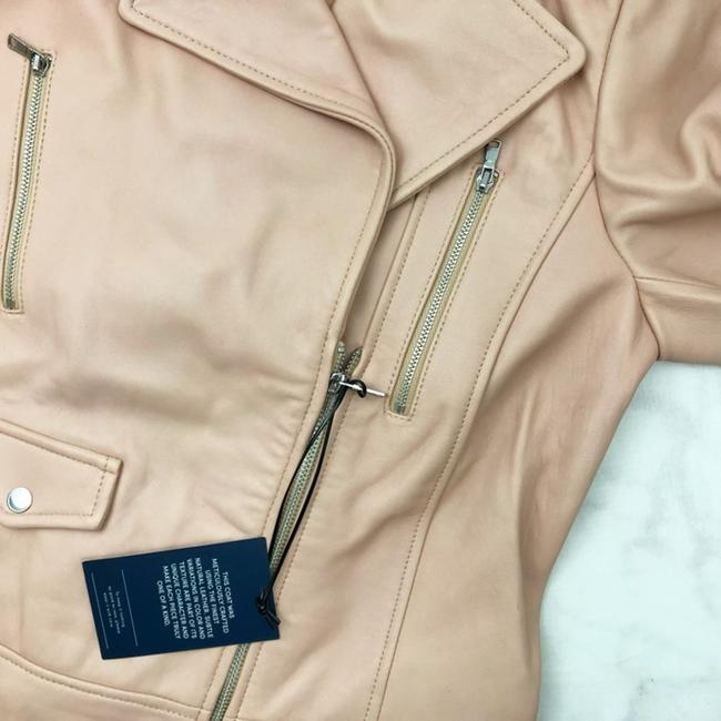 Cole Haan Pink Leather Jacket Image 3