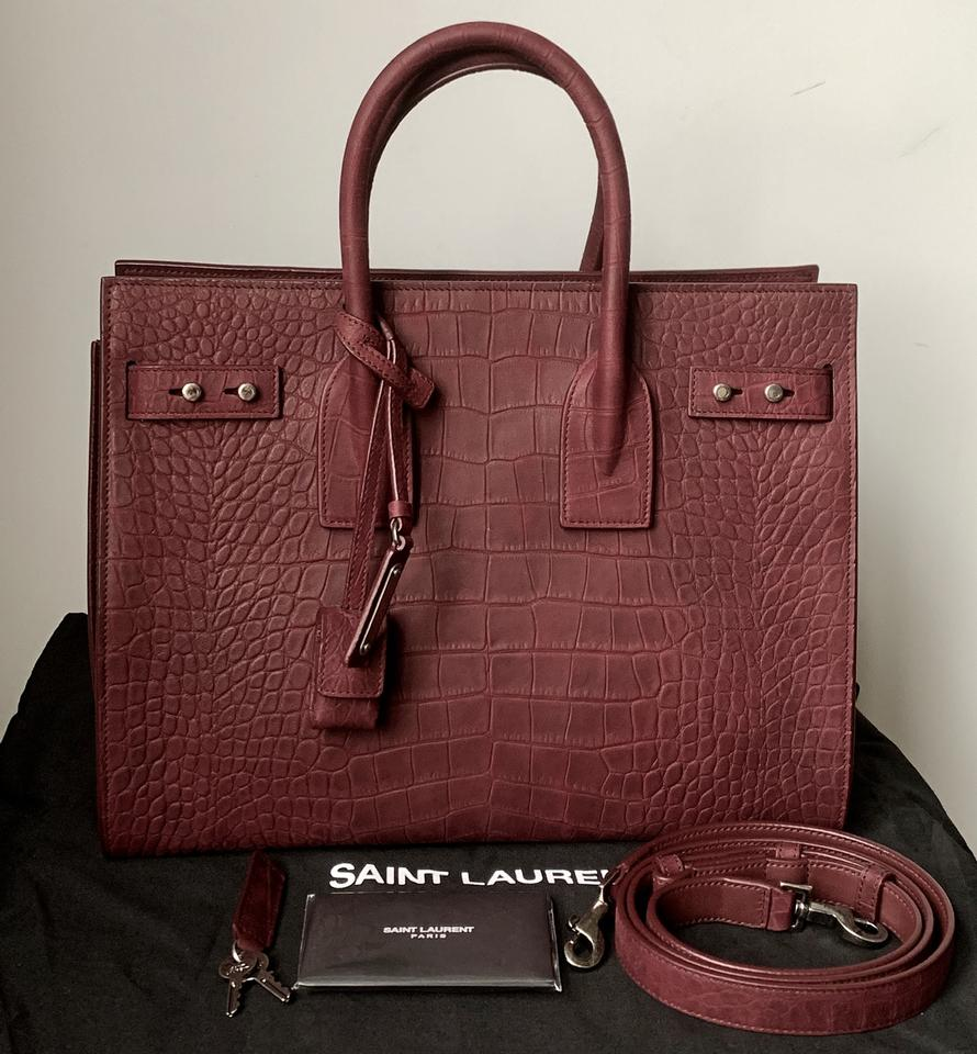 2e2396f2c8 Saint Laurent Sac de Jour Extra 150 Off with Coupon Small Soft Croc ...