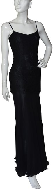 Preload https://img-static.tradesy.com/item/24396634/escada-black-couture-lace-silk-sleeveless-evening-gown-long-cocktail-dress-size-6-s-0-1-650-650.jpg