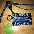 Vera Bradley zip id and lanyard in Java floral Image 1