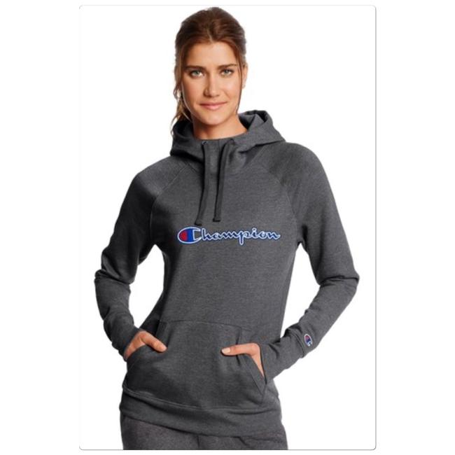 Preload https://img-static.tradesy.com/item/24396755/champion-gray-hoodie-activewear-top-size-4-s-0-0-650-650.jpg
